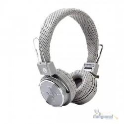 Fone de Ouvido Bluetooth Micro SD FM B05 Cinza